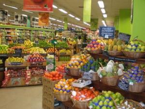 Scandal într-un supermarket din Capitală