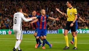 Se cere rejucarea meciului Barcelona - Paris Saint-Germain