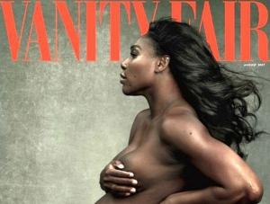 Serena Williams a acceptat să pozeze goală pentru Vanity Fair, deşi este însărcinată în luna a şasea