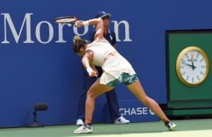 Simona Halep, amendă după gestul de la US Open. Câți bani va scoate din buzunar