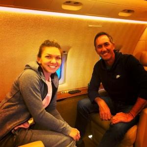 Simona Halep și Darren Cahill își petrec vacanța împreună la schi în Austria