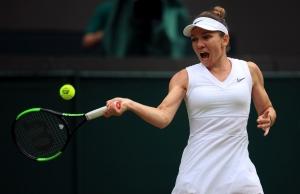 Simona Halep se califica superb in finala de la Wimbledon