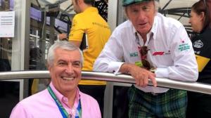 Tăriceanu, alături de Jackie Stewart, la Marele Premiu de Formula 1 de la Monza