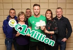 Un fotbalist a câștigat 1 milion de euro la loto