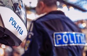 Un poliţist a ajuns la spital după ce a primit un pumn în bărbie când amenda un cerşetor