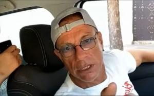 Van Damme, filmat în România, într-o maşină alături de manelişti. Imaginile au făcut înconjurul lumii!