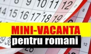 Zile libere Craciun - Revelion. Romanii vor avea parte de alte doua minivacante, sau chiar o vacanta in toata regula!