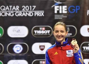 Ana Maria Brânză Popescu - medalie de AUR la Cupa Mondială de la Doha!