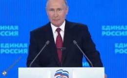 Cu partidul său la cea mai scăzută cotă în sondaje, Vladimir Putin le promite ruşilor lapte și miere