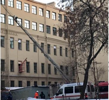 Dezastru în Rusia. Universitatea din Sankt Petersburg s-a prăbuşit. Mai mulţi oameni sub dărămături