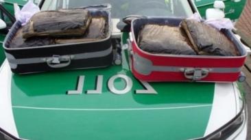 Doi români, arestați în Germania, după ce au fost prinși cu 10 kg de droguri