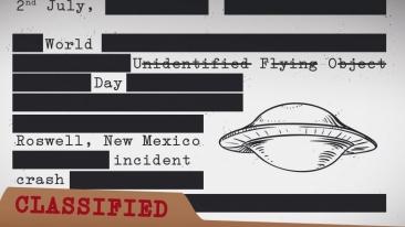 Dosarele CIA despre OZN declasificate. Arhiva e un amestec de rapoarte ridicole şi informaţii secrete cenzurate