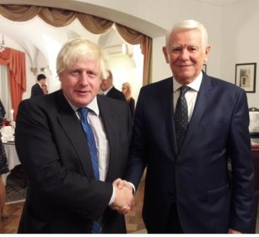 Meleşcanu a discutat cu Boris Johnson despre situaţia românilor din Marea Britanie după Brexit
