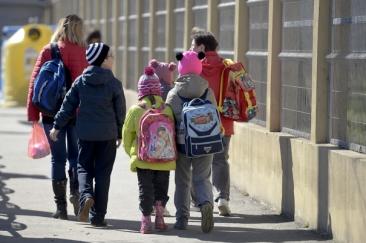 Tatăl care a agresat un elev în curtea liceului din Peştişani a fost reţinut