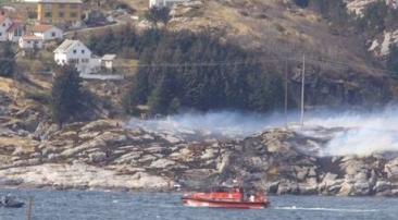 Un elicopter cu 14 persoane la bord s-a prăbuşit în Norvegia