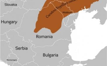 Unde a fost unul dintre leagănele civilizaţiei din Europa. Se întindea pe o suprafaţă importantă din România