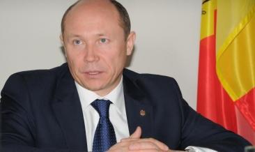 Valeriu Streleţ a primit votul de încredere al Parlamentului