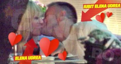 Elena Udrea a fost surprinsă sărutându-se cu un bărbat misterios