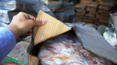 Incredibil:Vameşii chinezi au confiscat carne congelată veche de 40 de ani!