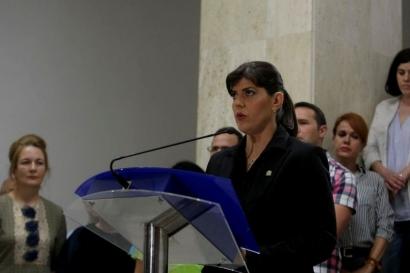 Laura Codruța Kovesi candidează pentru postul de șef al Parchetului European