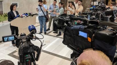 Maia Sandu, mesaj crucial către președintele Klaus Iohannis