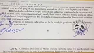 Mandrescu continua abuzul in serviciu, incalcand prevederile Codului Muncii si ale Contractului Colectiv de Munca