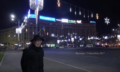 Mihai Șora, singur în Piața Victoriei: Dacă-i lăsați să fure, vor fura totul!