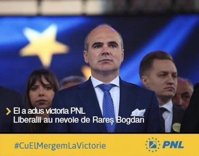 Peste 600 de membri ai organizației PNL București, scrisoare pentru Rareș Bogdan ca sa preia conducerea!