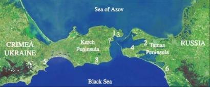 Un nou incident în Strâmtoarea Kerci din Marea Neagră