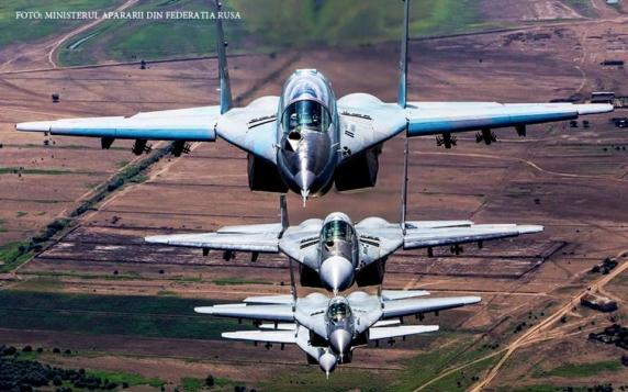 Șase avioane militare rusești au penetrat spațiul aerian securizat de NATO