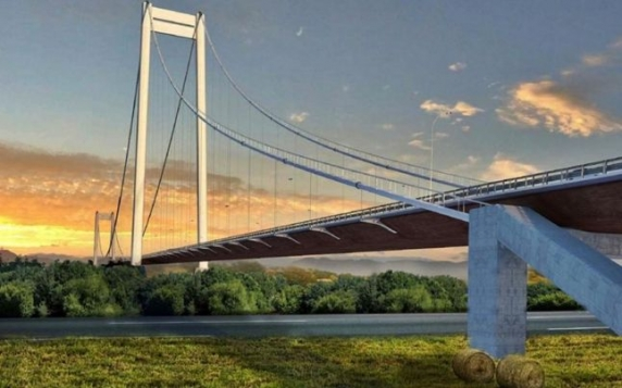 Începe construcția podului de la Brăila, un veritabil Golden Gate romanesc