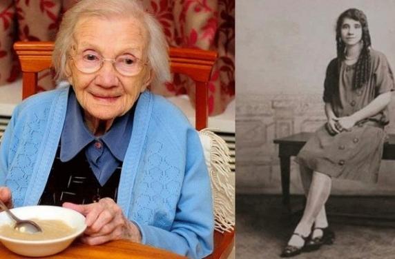 """A trait 109 ani, iar pe patul de moarte a spus secretul unei vieti lungi: """"Nu va maritati"""""""