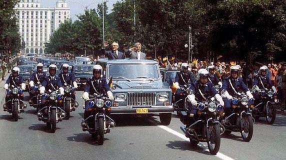 ANAF a vândut celebrul ARO al lui Ceaușescu