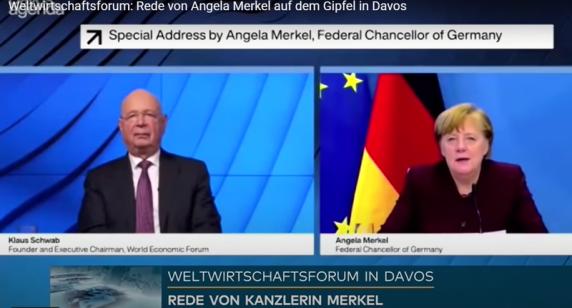 """Angela Merkel la Davos: """"Chiar avem nevoie de această Mare Resetare?"""""""
