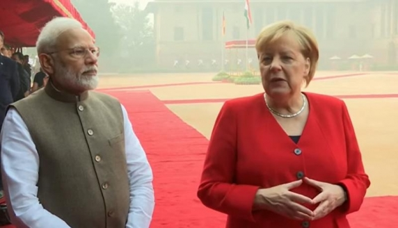Angela Merkel: Îmi folosesc toate forțele pentru a lupta împotriva schimbărilor climatice