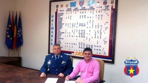 Armata şi-a făcut echipă! Marius Lăcătuş e antrenorul CSA Steaua!