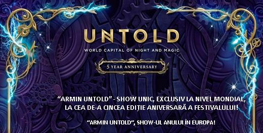 Armin van Buuren a compus imnul oficial UNTOLD 2019