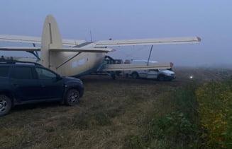 Avion plin cu țigări de contrabandă destinate României, reținut la sol în Republica Moldova. Era pilotat de trei cetățeni ucraineni