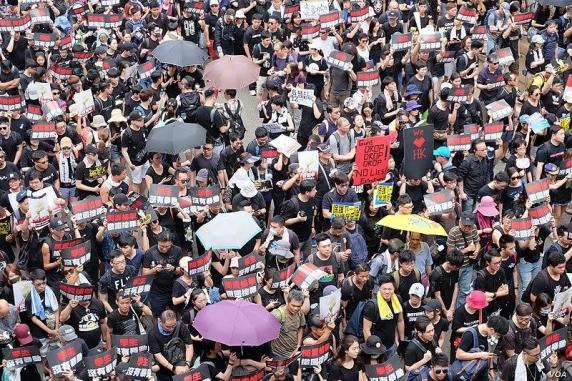 Beijingul nu va permite ca Hong Kong să se desprindă de China