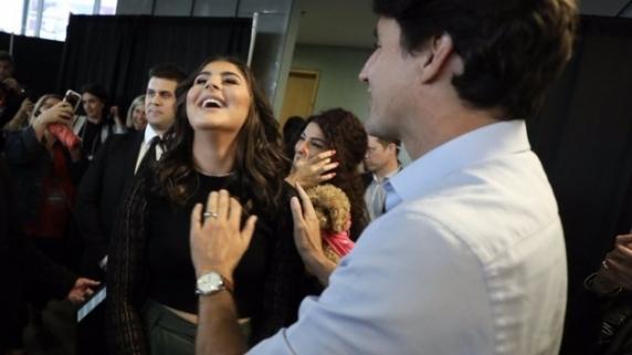 Bianca Andreescu, sărbătorită în oraşul natal, în prezenţa premierului Canadei. O stradă din localitate îi va purta numele