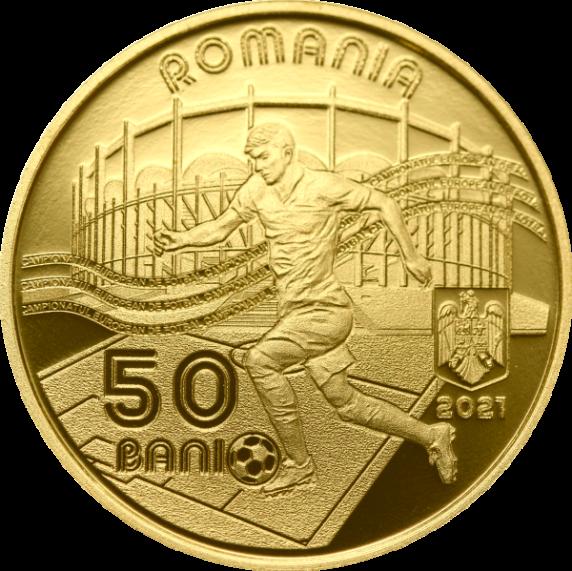 BNR va lansa o monedă dedicată Campionatului European de Fotbal 2020. Cum se poate achiziționa