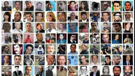 Câți jurnaliști au fost ucisi în 2017