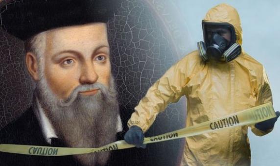 """Carnivorous voracious, adevaratul nume al coronaviruslui, regele """"incornorat"""" al mortii, obtinut prin algoritmul de decriptare al Catrenelor lui Nostradamus!"""