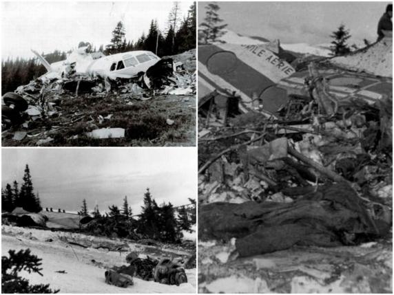 Catastrofa aeriană din Munții Lotrului, ținută secretă de către comuniști. 42 de oameni au murit din cauza unor erori ale echipajului