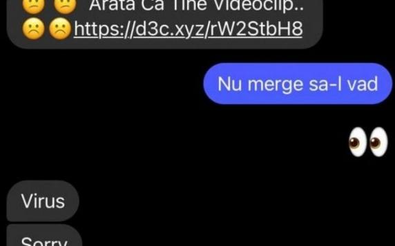 """CERT-RO: Nu deschideţi link-uri primite pe Facebook Messenger, cu mesajul """"Apari în acest video"""" sau """"Seamănă cu tine"""""""