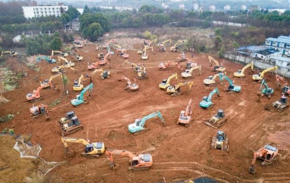 China vrea să construiască un spital de 1.000 de persoane în doar 10 zile