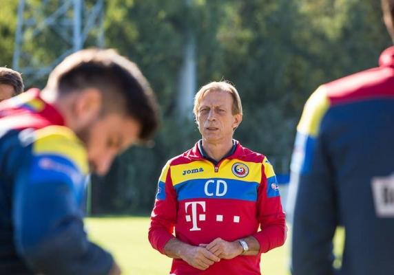 Christoph Daum a anuntat lotul pentru meciul cu Danemarca: Alibec, Hanca, Budescu si Romario Benzar, printre cei convocati