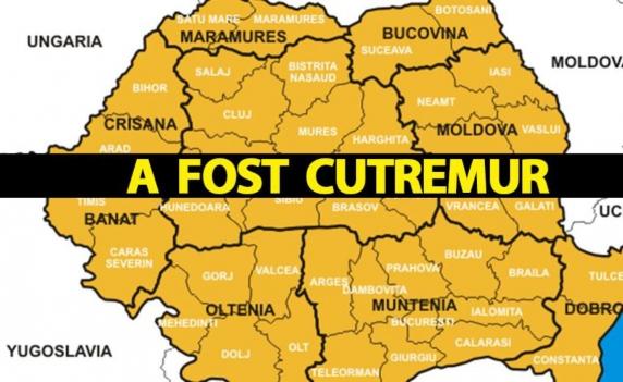 Cutremur neobișnuit azi-noapte, în România, la ora 00:28. Lista orașelor afectate