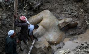 Descoperire inestimabila în Egipt: statuie gigant a lui Ramses al II-lea