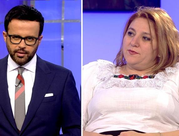 """Diana Şoşoacă a plecat de la Mihai Gâdea după ce l-a luat la mișto pe realizatorul """"Sintezei Zilei"""""""